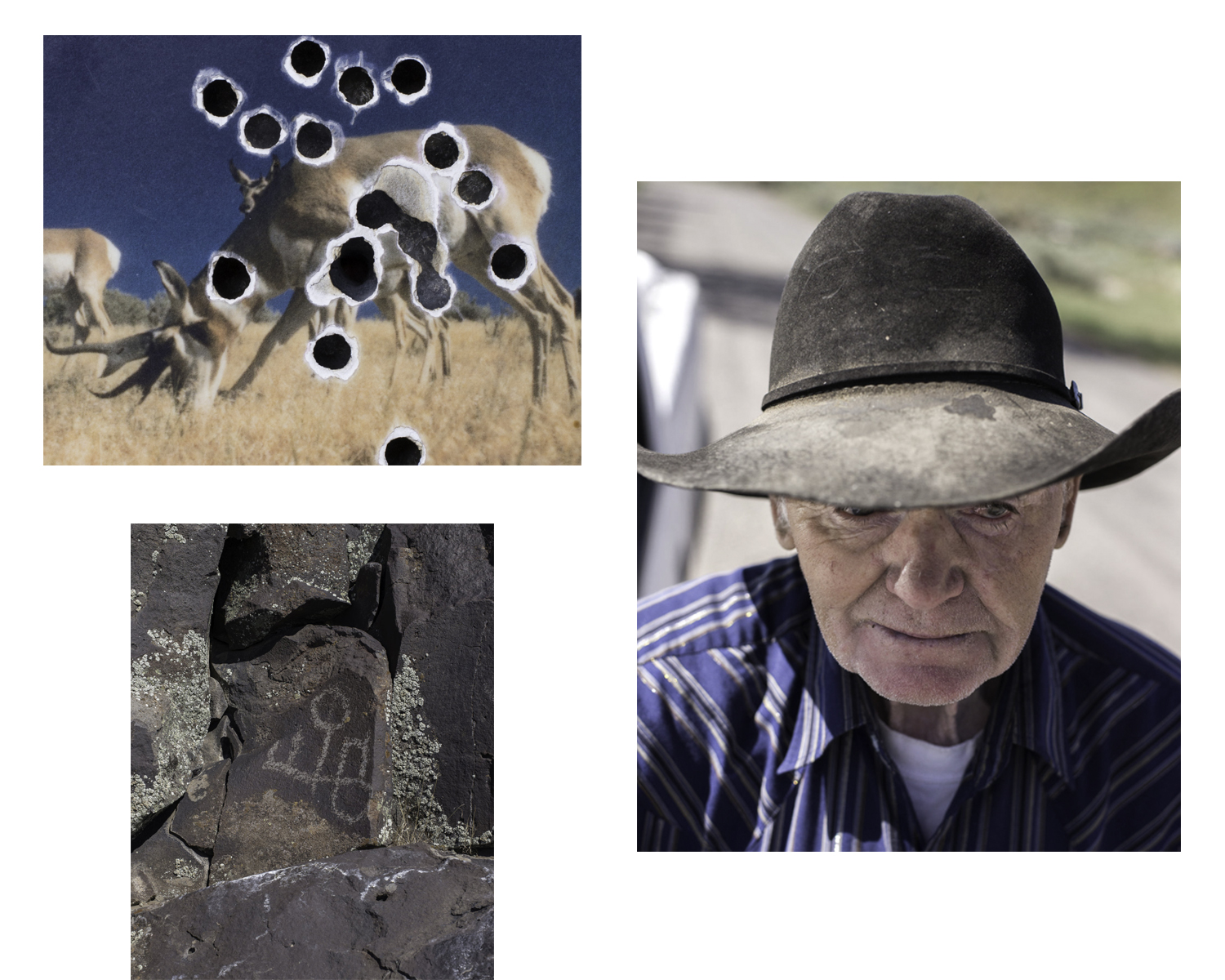 A selection of images from the series  Fort Rock  Stephen Milner