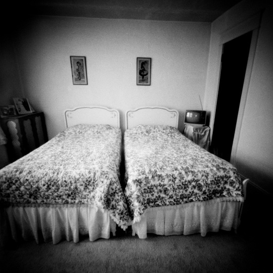 Twin Beds, Coaldale, PA, 1989, 2001