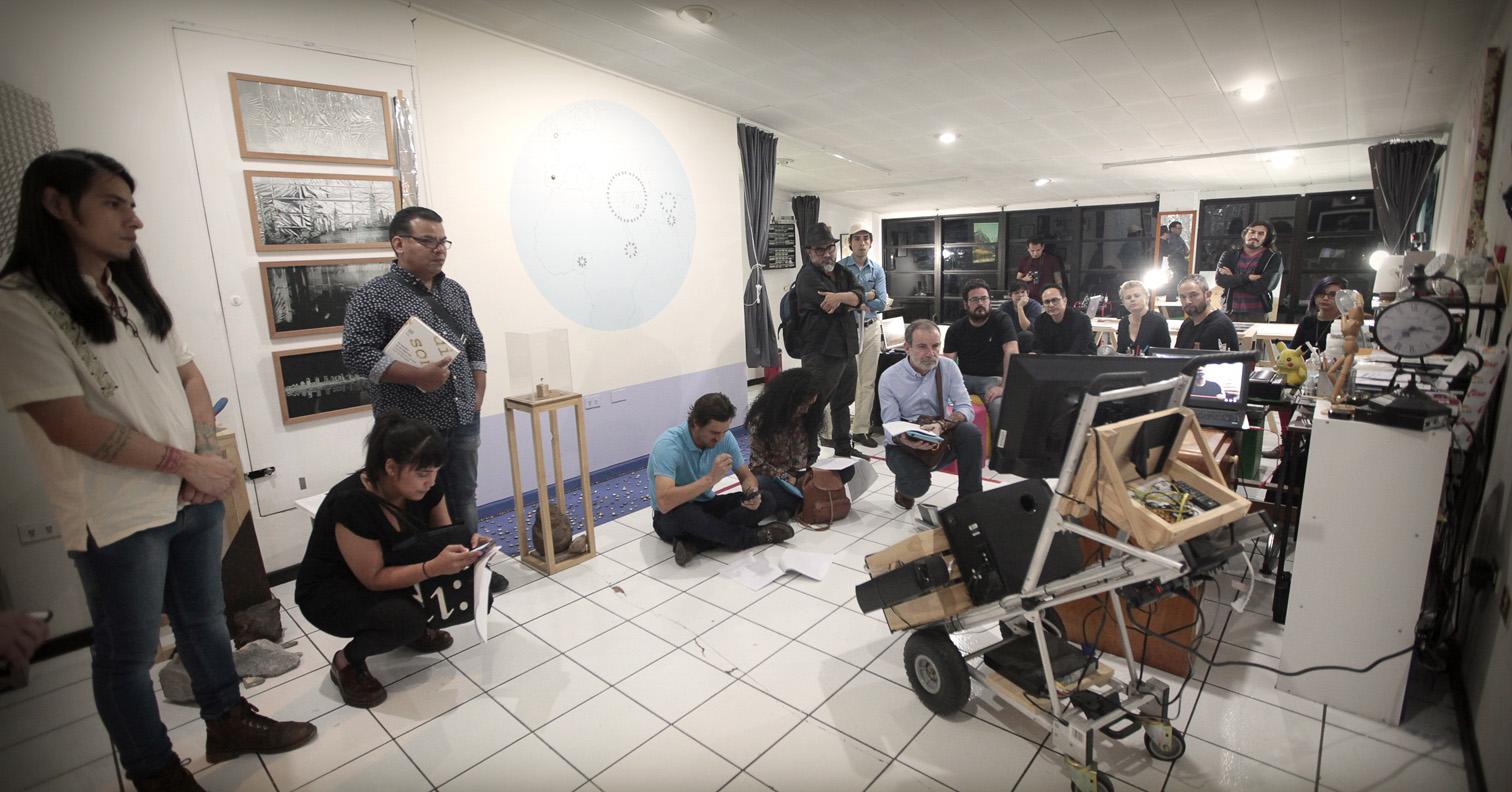 Studio of Mauricio Esquivel