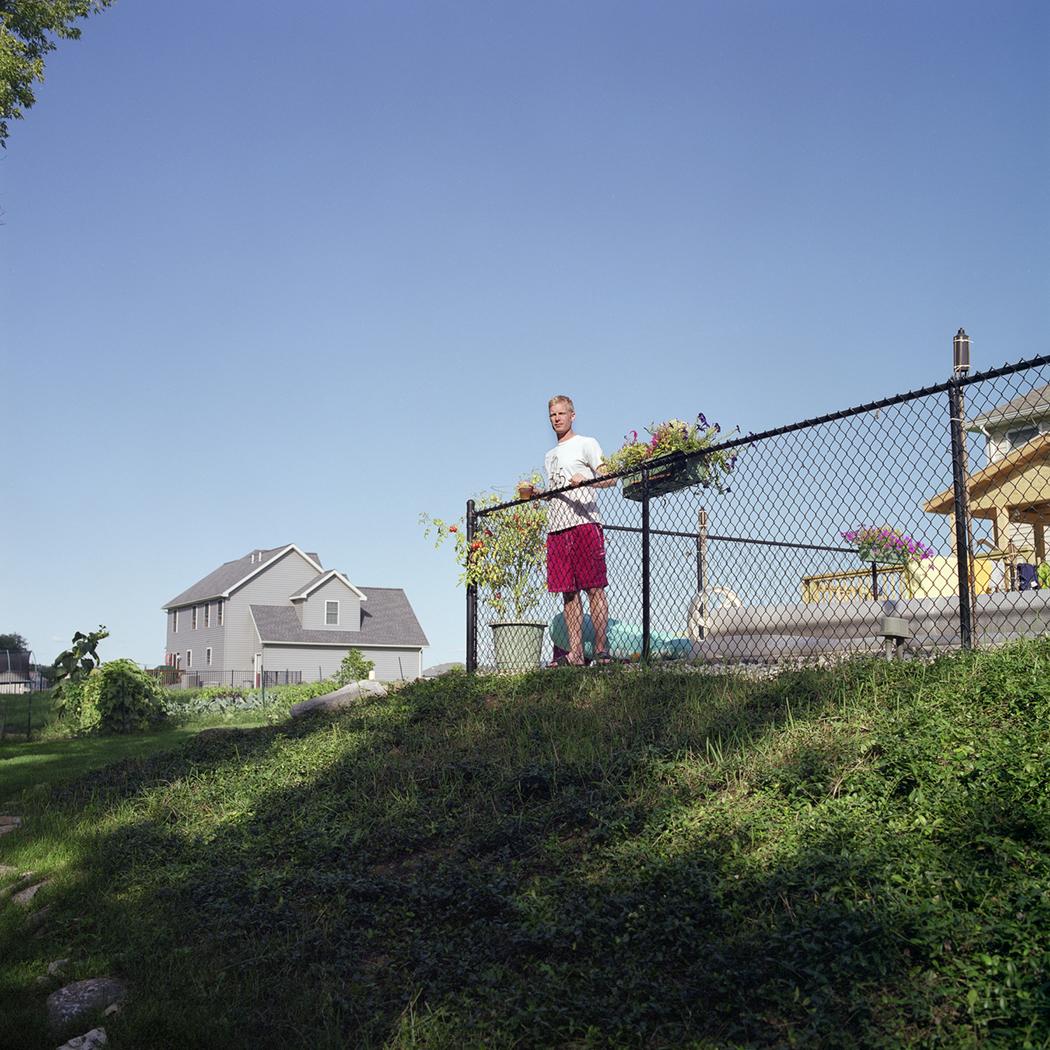 "J.R., Bellefonte, Pennsylvania , 20""x20"", Digital Print, 2012"
