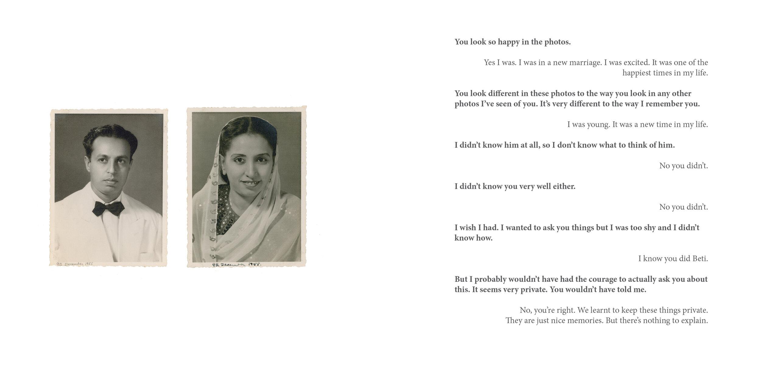 Nani Portrait,  1952. and  Nana Portrait,  1952.