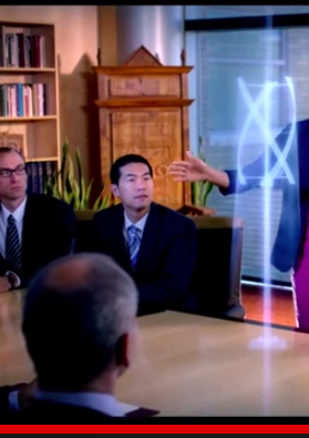 This screenshot is from a BYU Video (https://www.youtube.com/watch?v=gaJ76sBYqs4).  All of the people depicted in the video are actors; however, in this scene, patent attorney Jacob Ong is playing the role of a patent attorney.