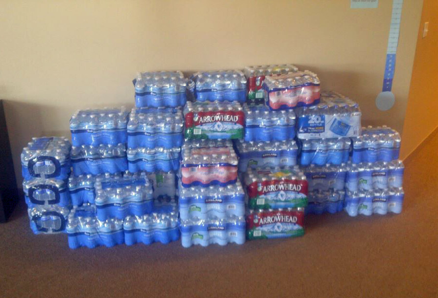 Water Drive for the Homeless