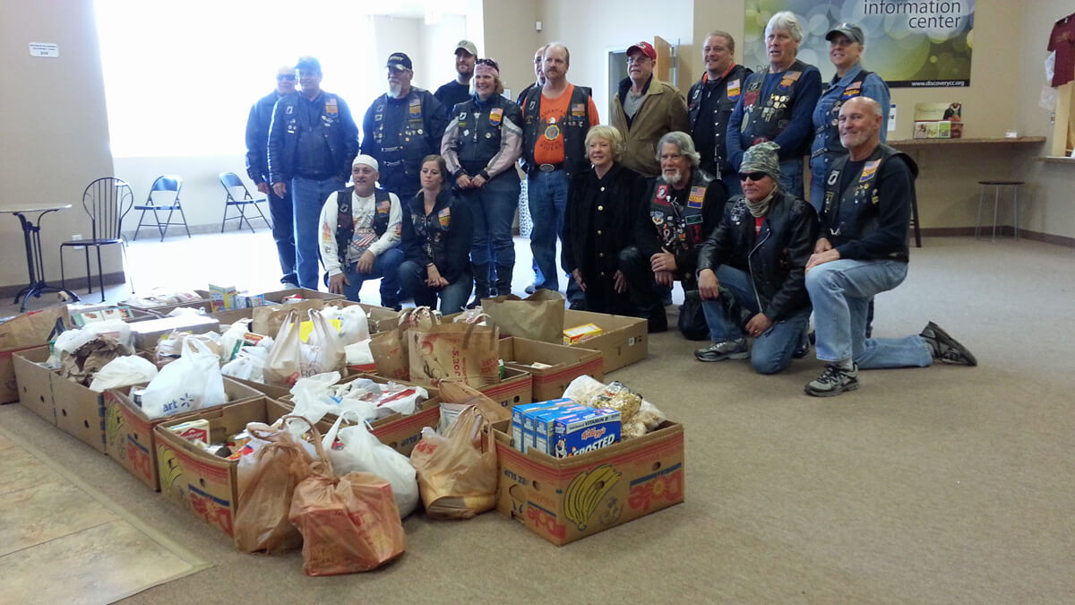 Food Pantry Donations from American Legion Gilbert Post 39