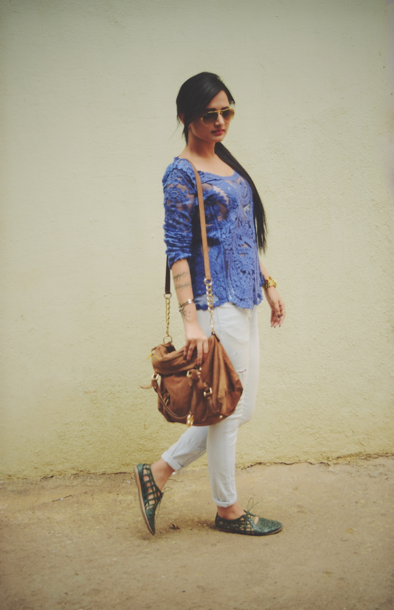 The Chic Armoire by Nidhi Kunder | Laced Summer Blues 3