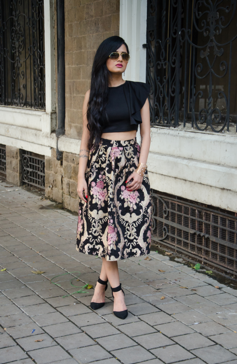 The Chic Armoire by Nidhi Kunder - Black Rose Immortal 12