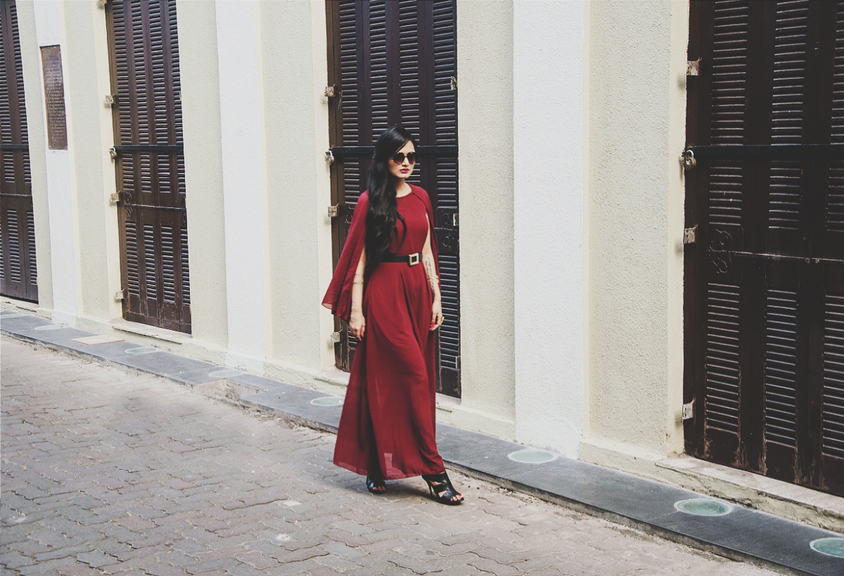 The Chic Armoire by Nidhi Kunder - The Cape Dress