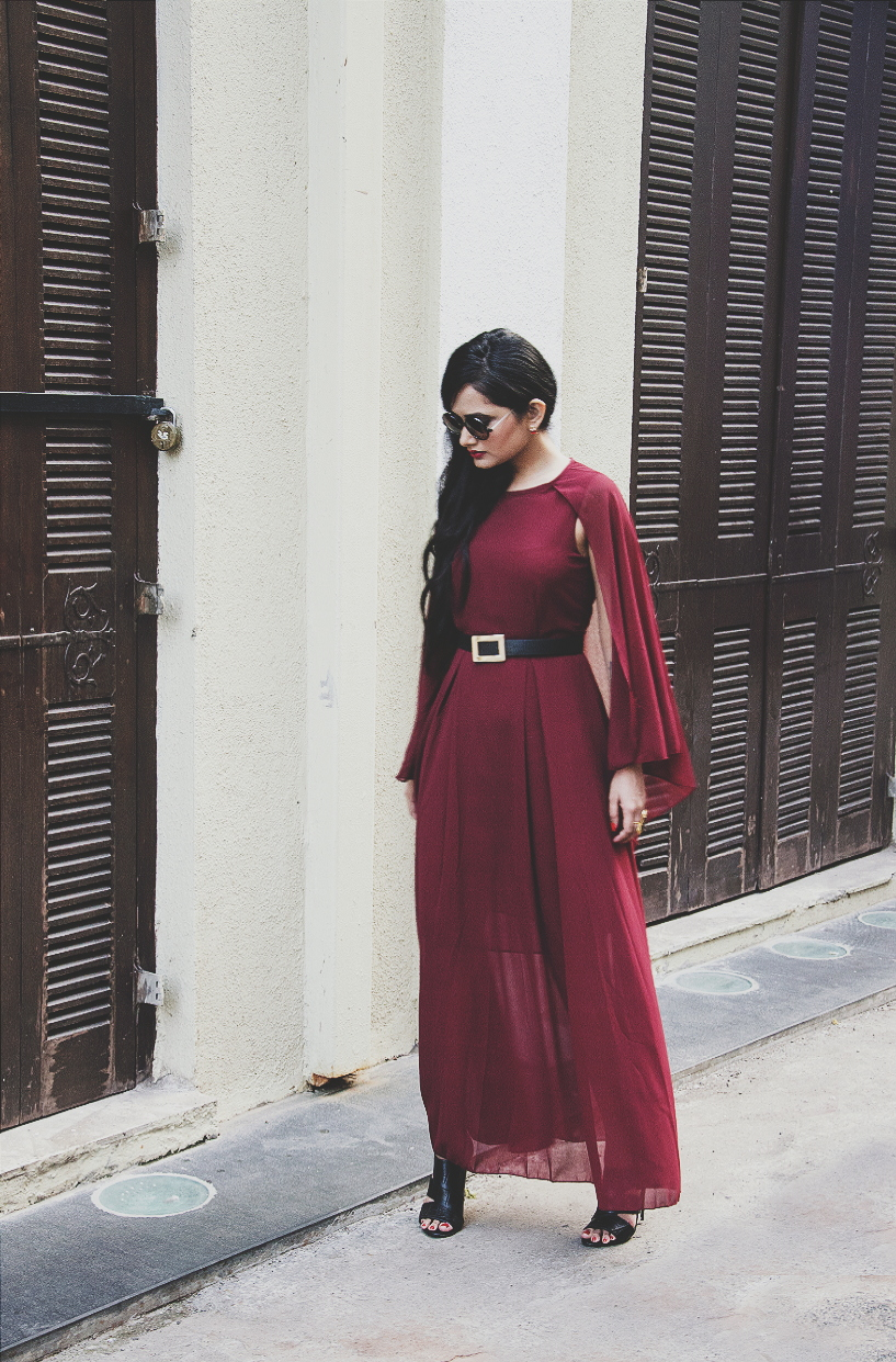 The Chic Armoire by Nidhi Kunder - The Cape Dress 2