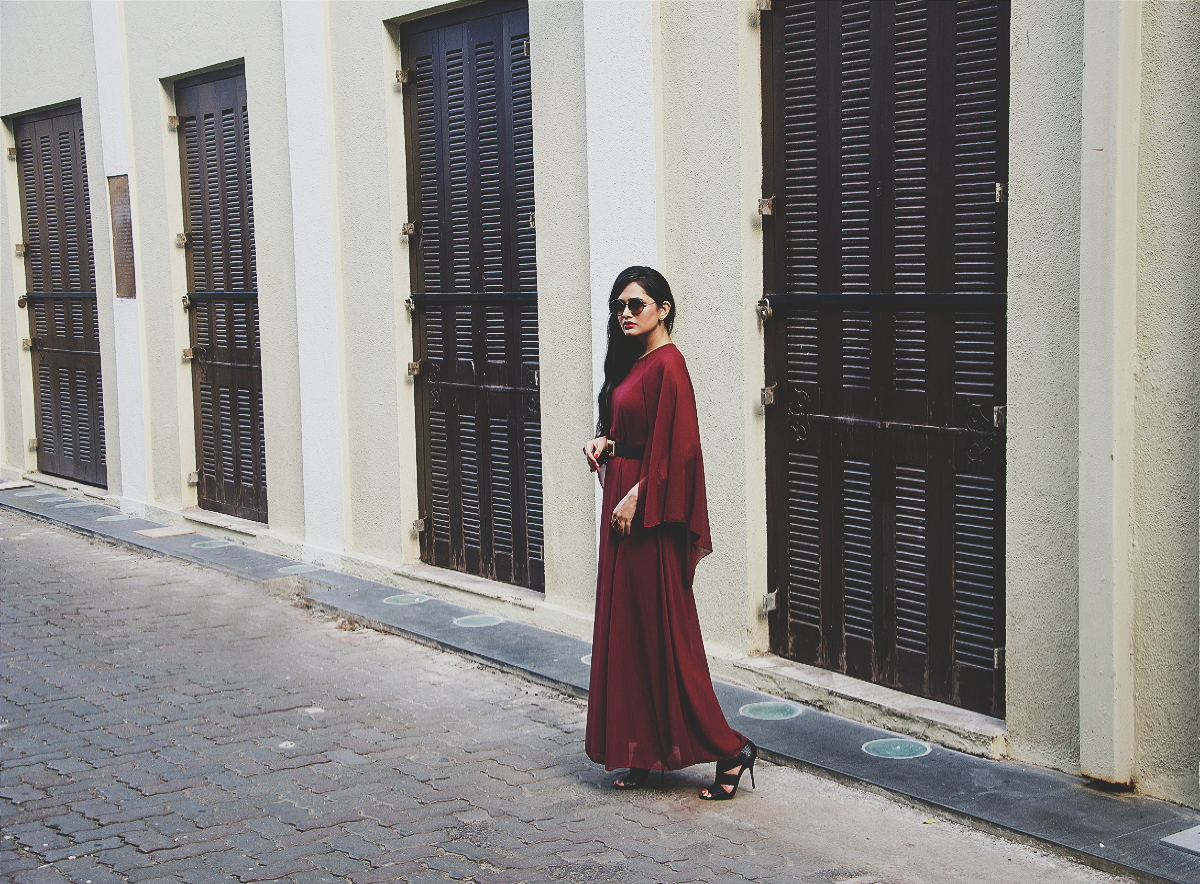 The Chic Armoire by Nidhi Kunder - The Cape Dress 9