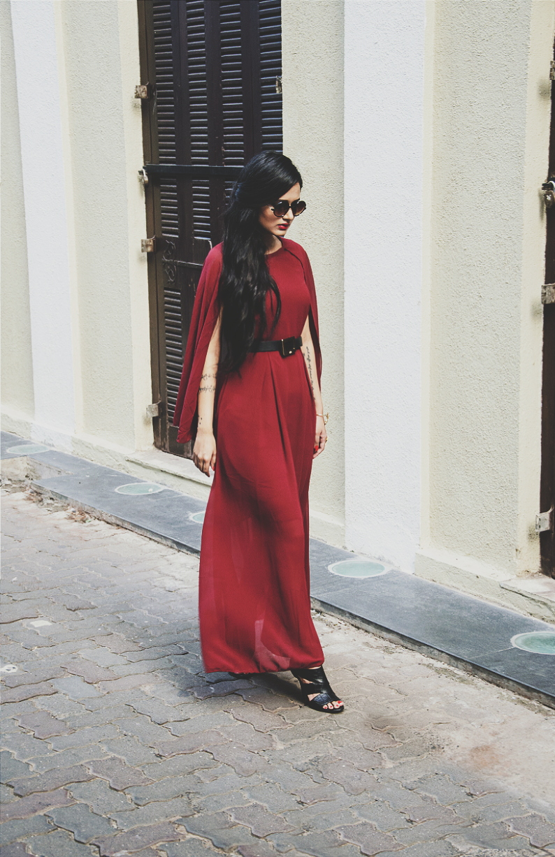 The Chic Armoire by Nidhi Kunder - The Cape Dress 6