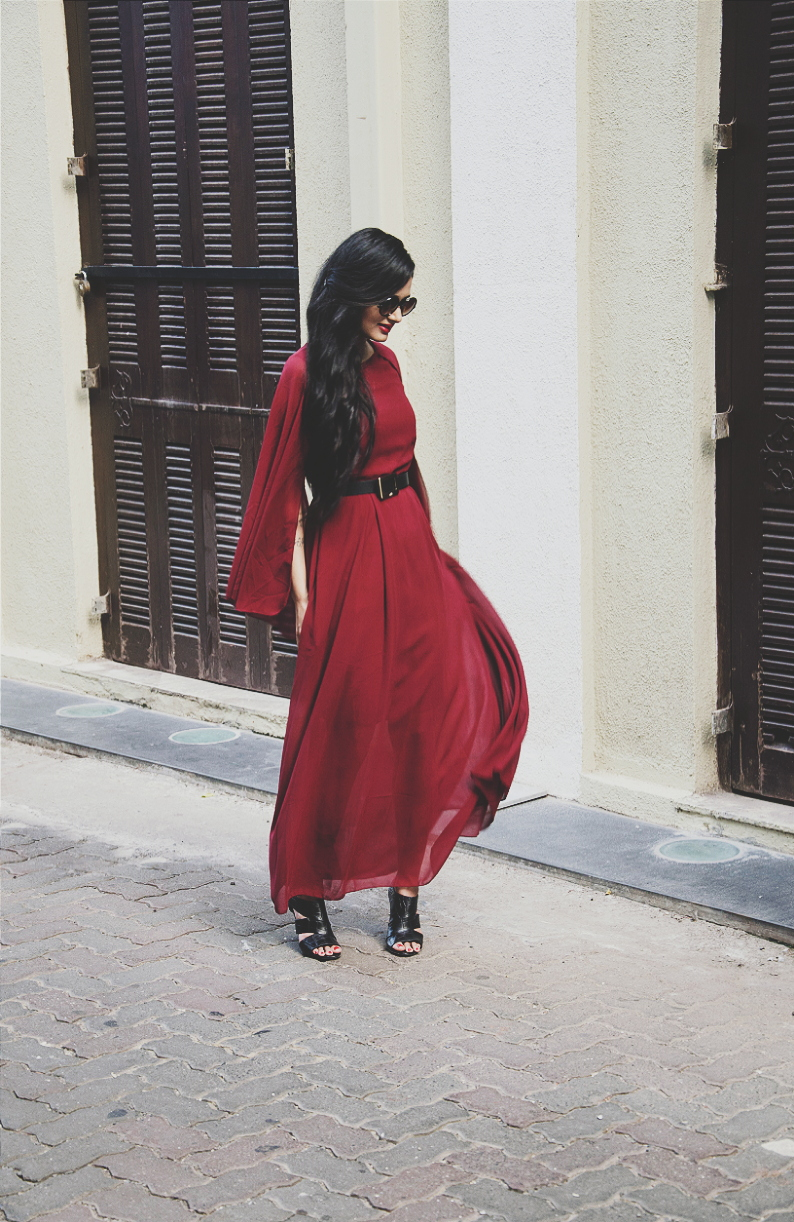 The Chic Armoire by Nidhi Kunder - The Cape Dress 11