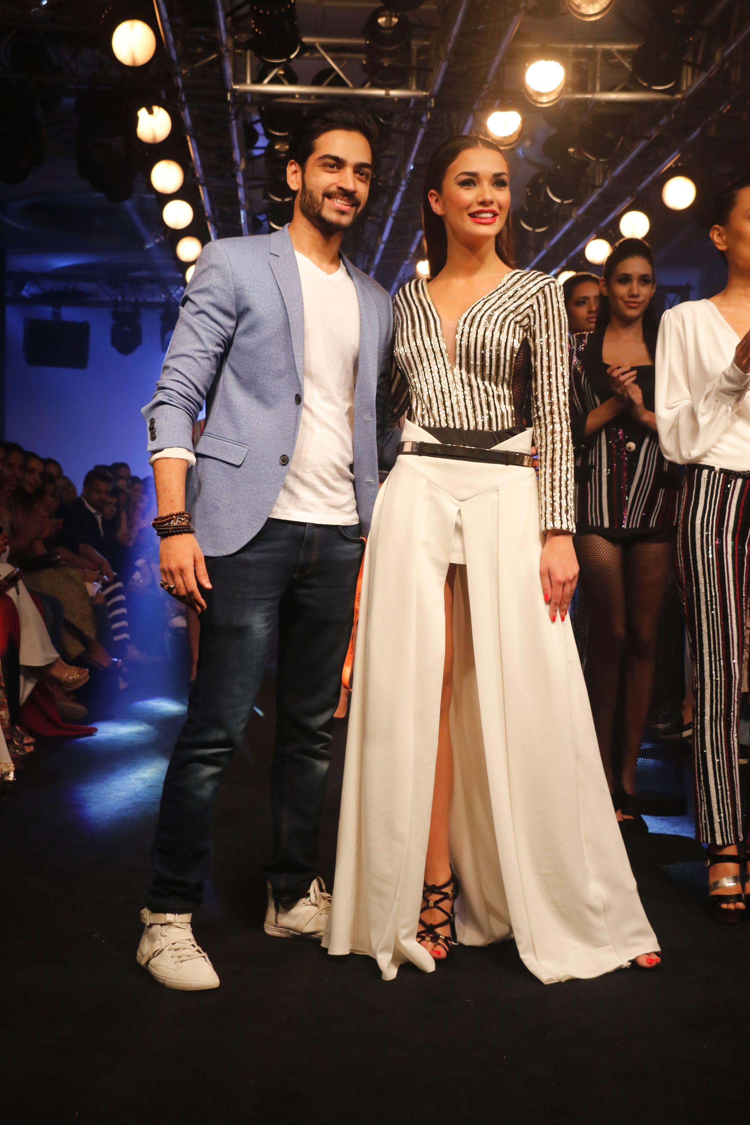 Karn-Malhotra-Amy-Jackson-Lakme-Fashion-Week-9