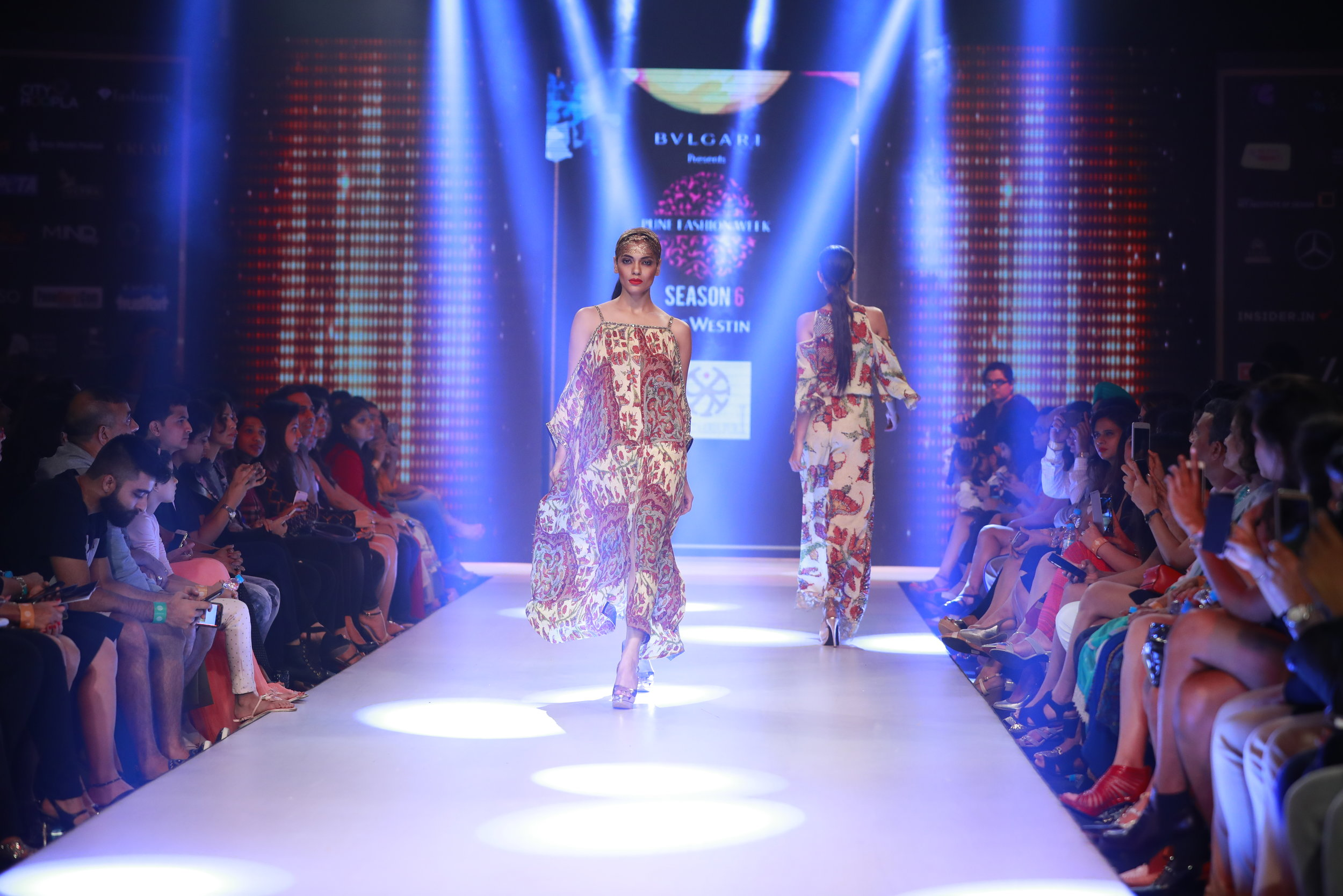 6th Edition - Pune Fashion Week 2016 - Models in Designer Prya Kataria Puri's collection for Smile Foundation.JPG