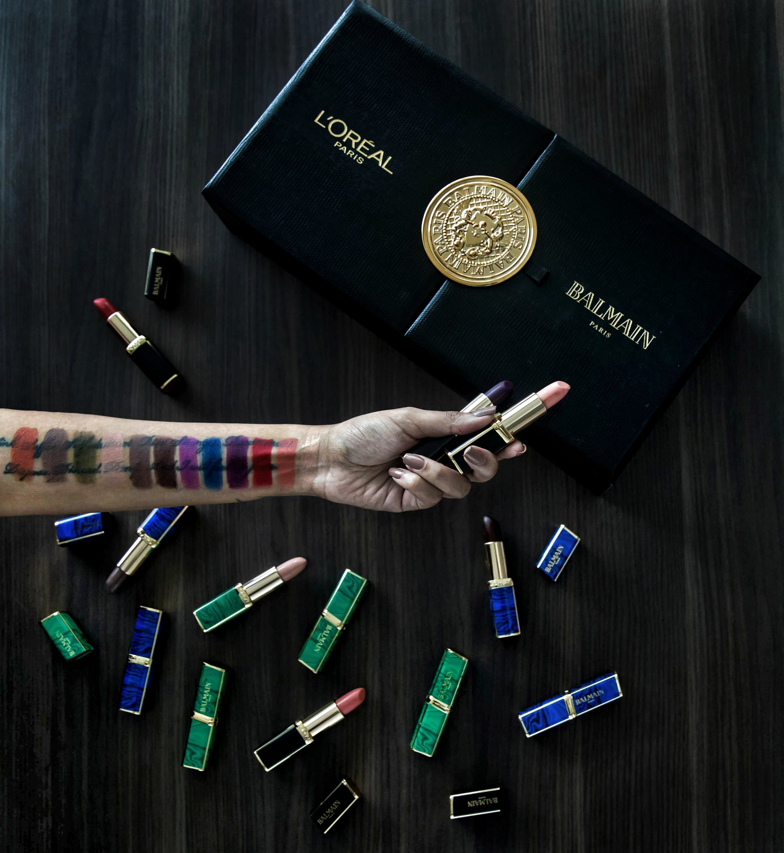 Loreal-Balmain-Olivier-Rousting-Swatches-1