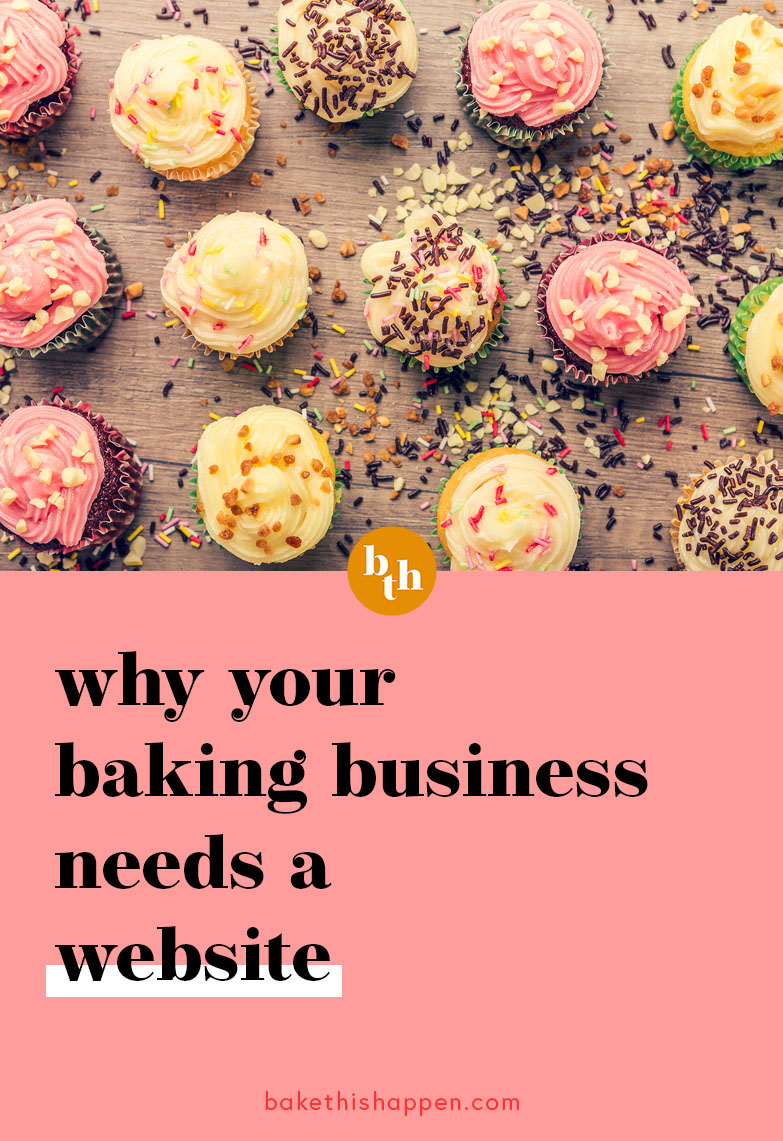 why your home baking business needs a website
