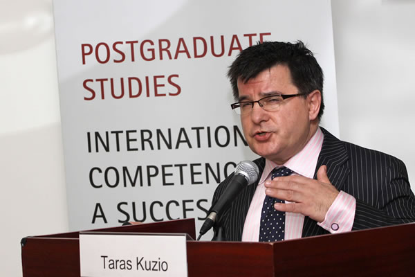 Taras Kuzio Austrian Marshall Plan Foundation Fellow at Johns Hopkins University, School of Advanced International Studies