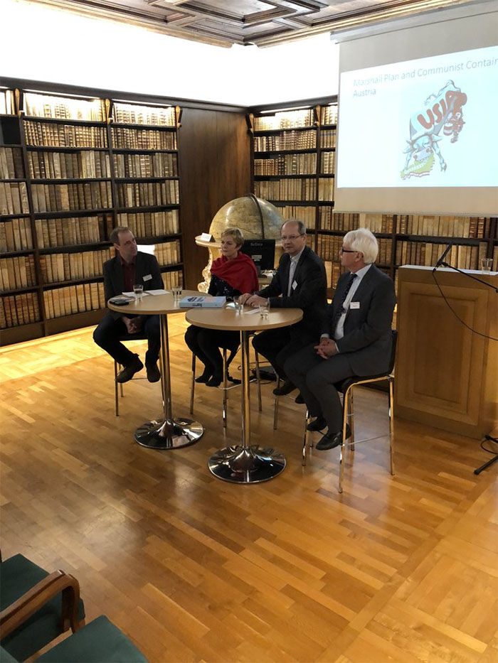 Ewald Hiebl, Maria Fritsche, Hans Petschar, and Guenter Bischof