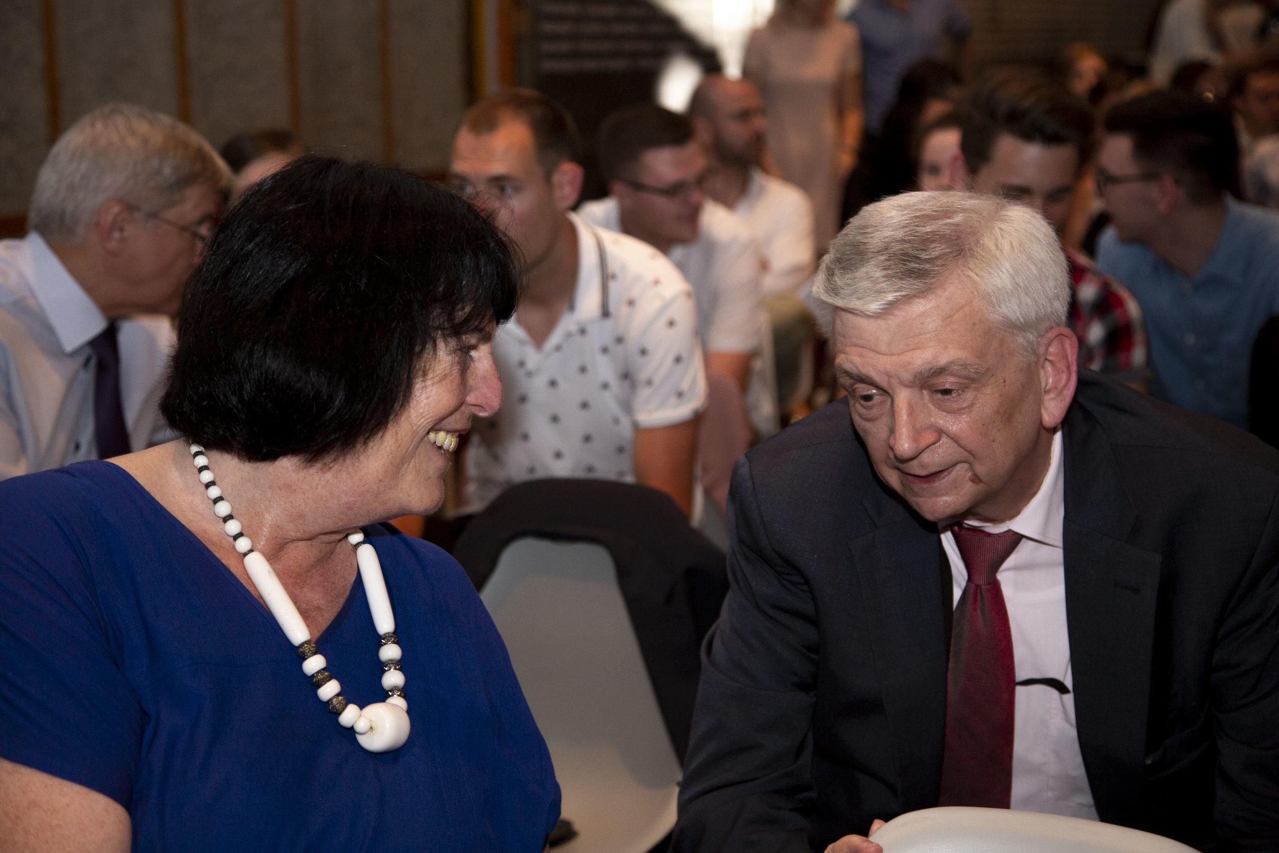 Ambassador Eva Nowotny (left), Ambassador Hans Peter Manz