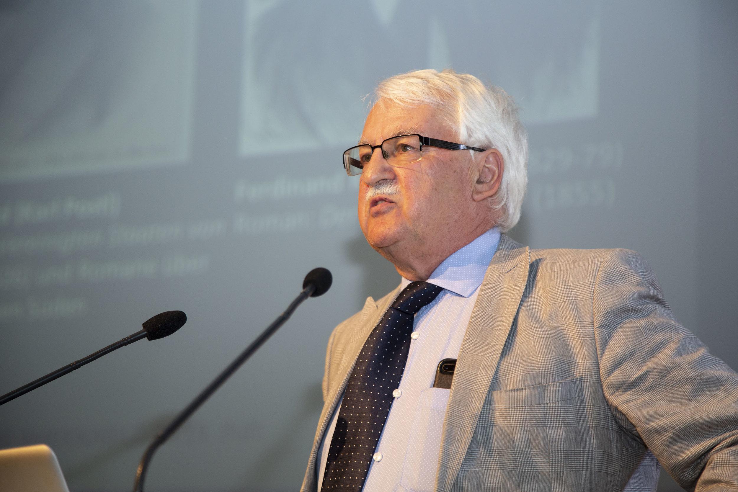 Professor Guenter Bischof,  Director, Austrian Marshall Plan Center for European Studies, The University of New Orleans