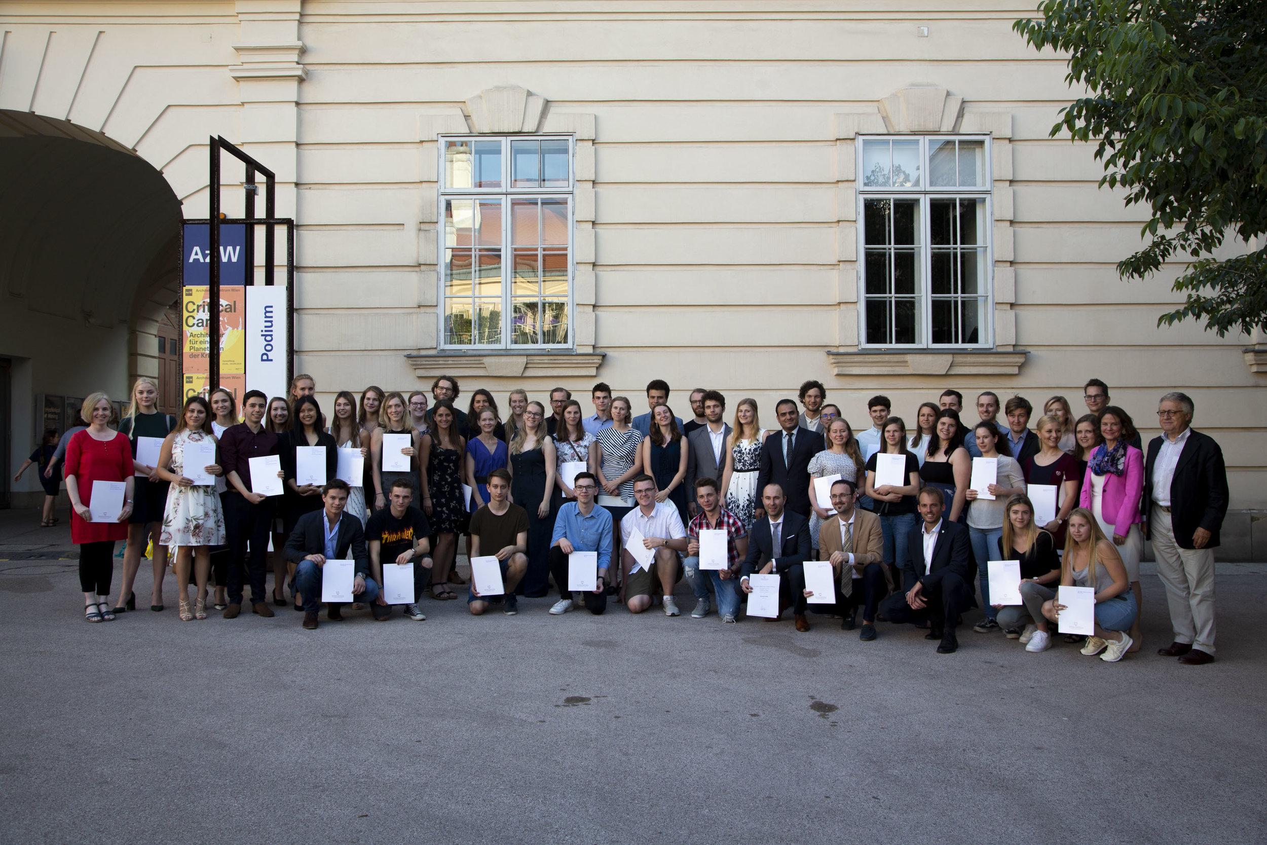 Marshall Plan Fellowship Recipients