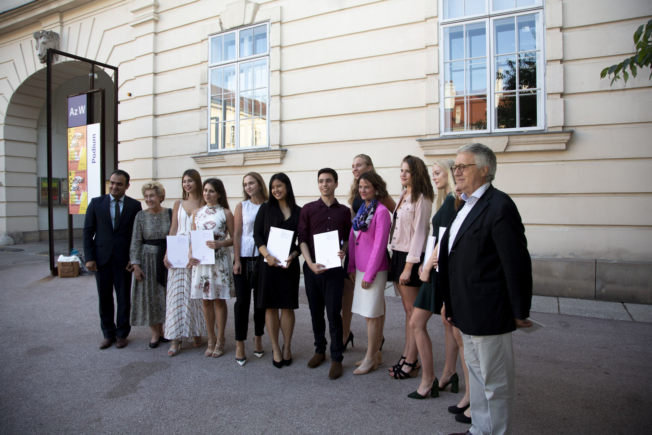 Marshall Plan Fellowship Recipients