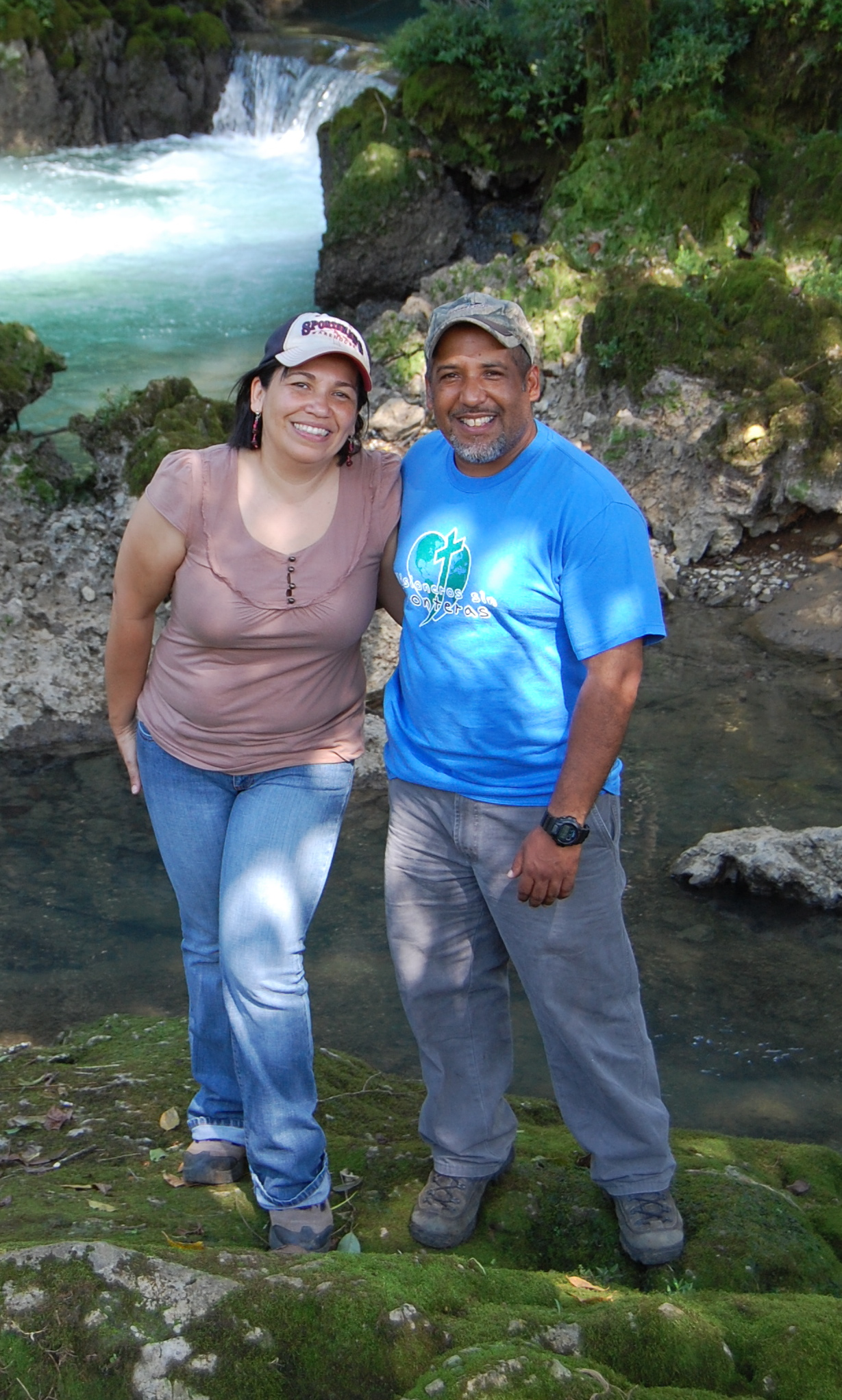 Pastor Cristian and his wife Euginia