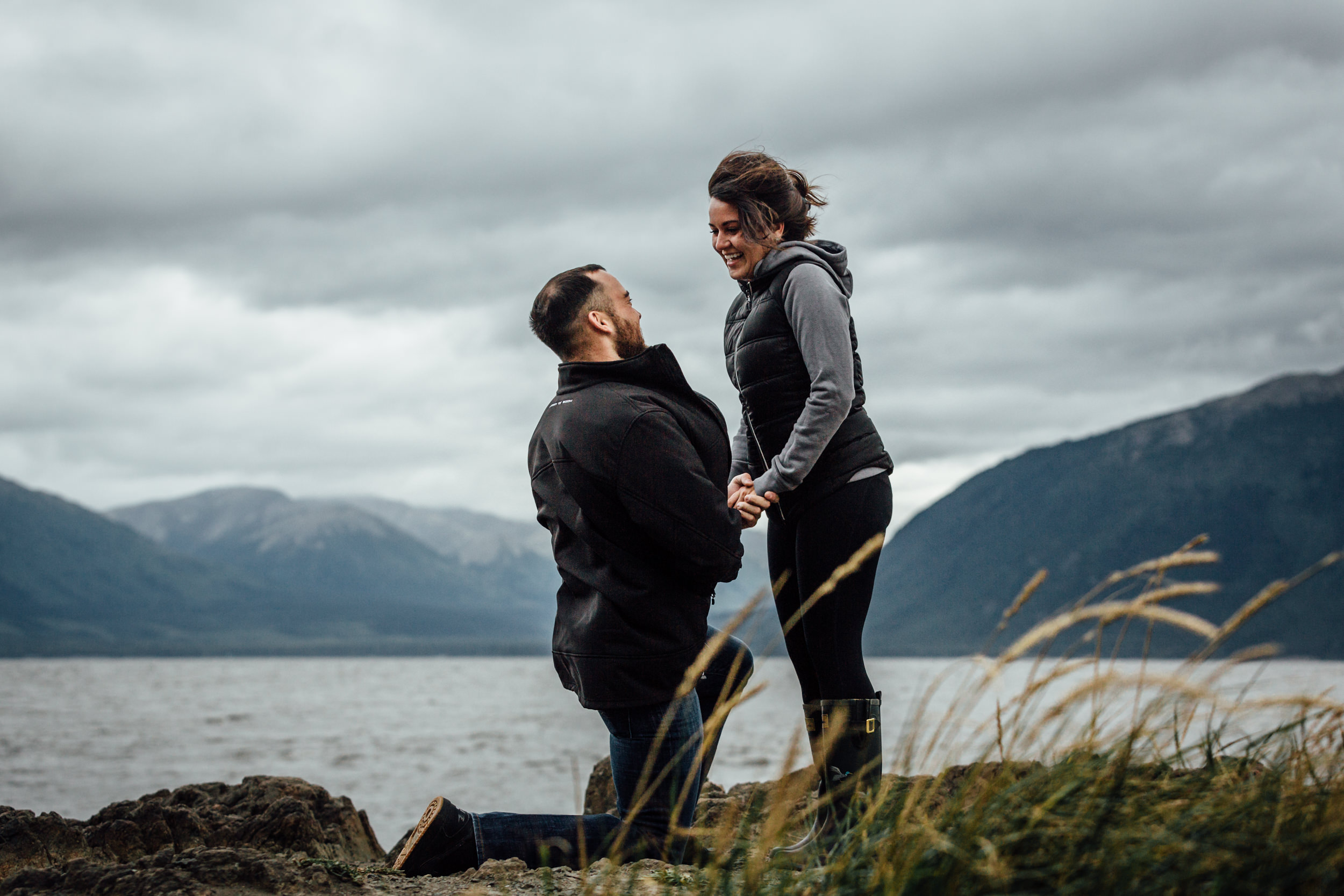 Surprise Anchorage wedding proposal