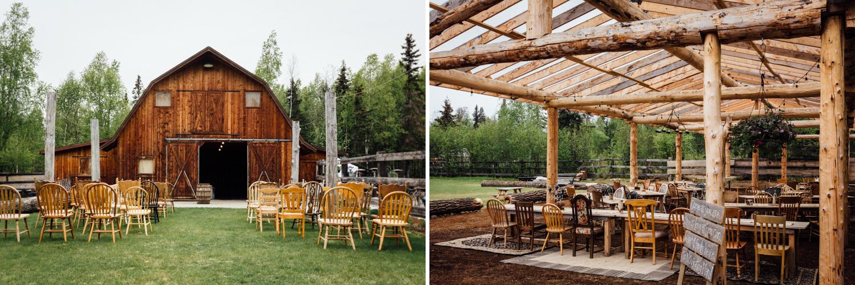 Barn at Gloryview Farm in Wasilla
