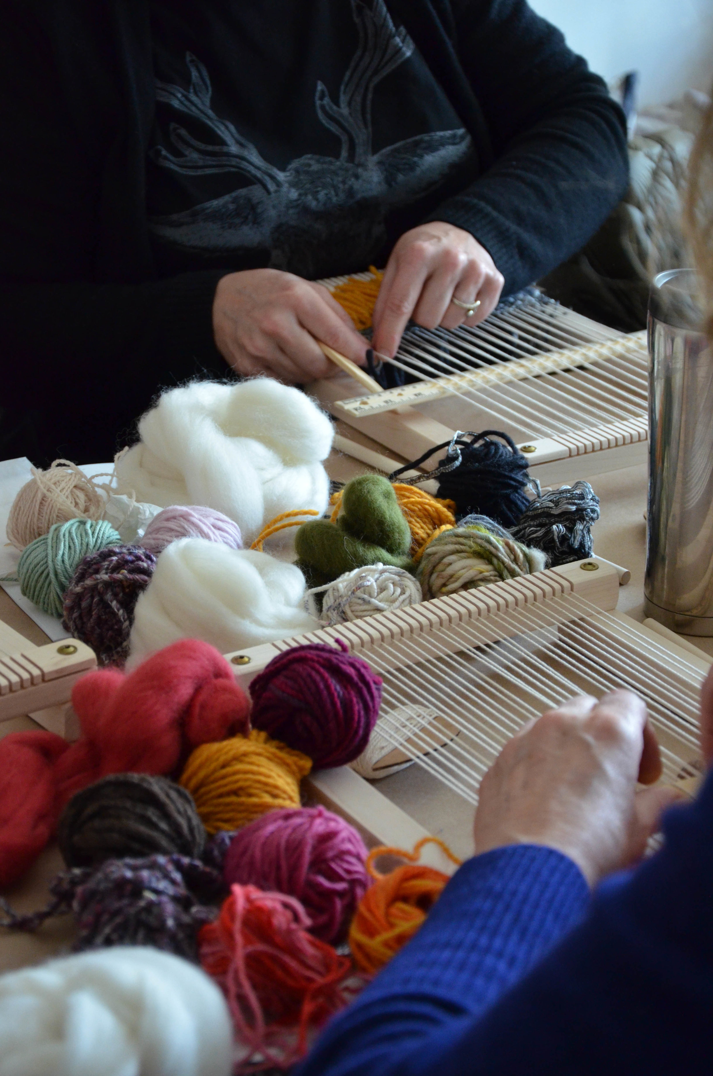 Learn to weave - beginner and intermediate weaving workshops and classes in vancouver and victoria bc with Lucy Poskitt