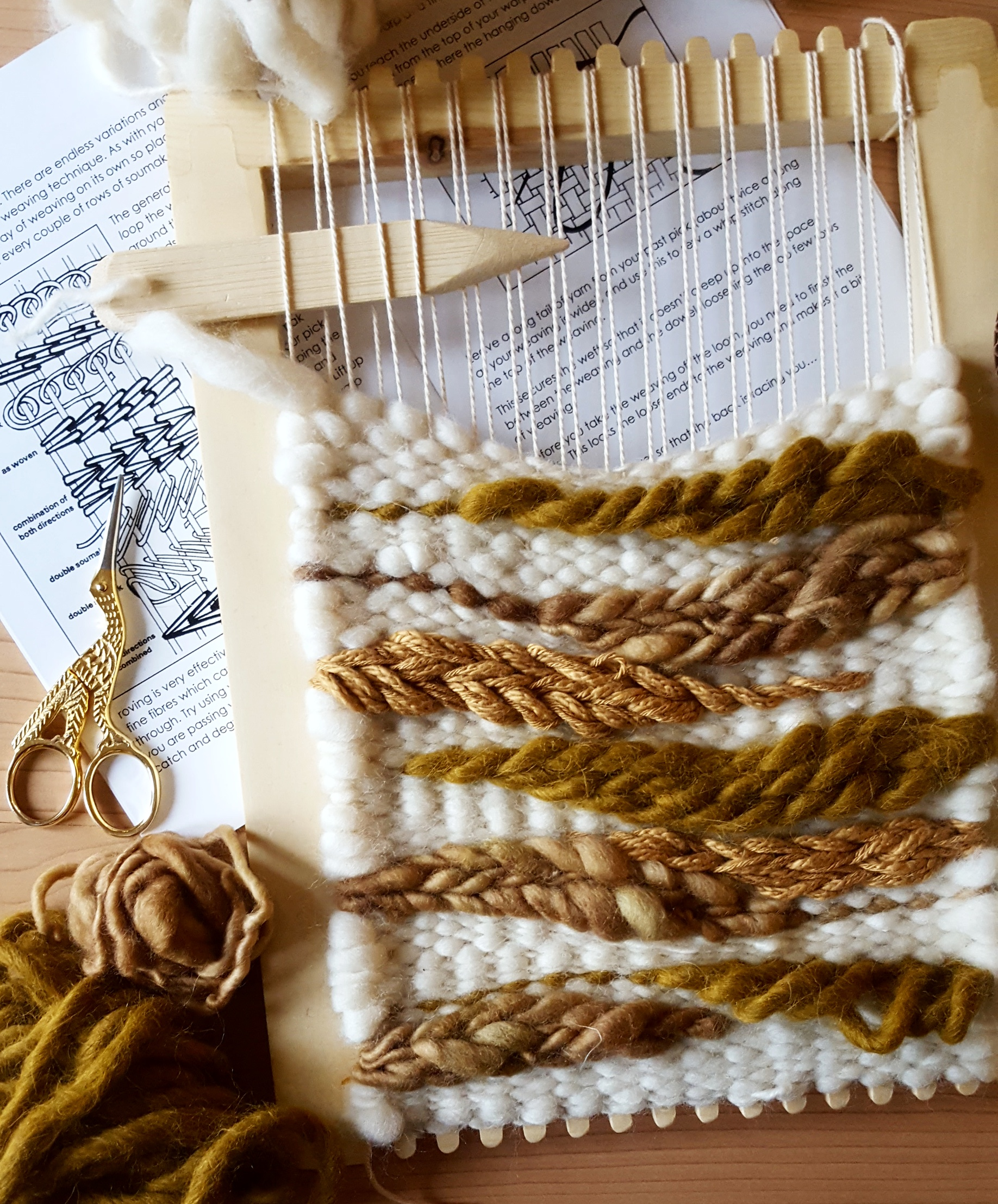 upcoming weaving workshops in Vancouver and Victoria with Lucy Poskitt