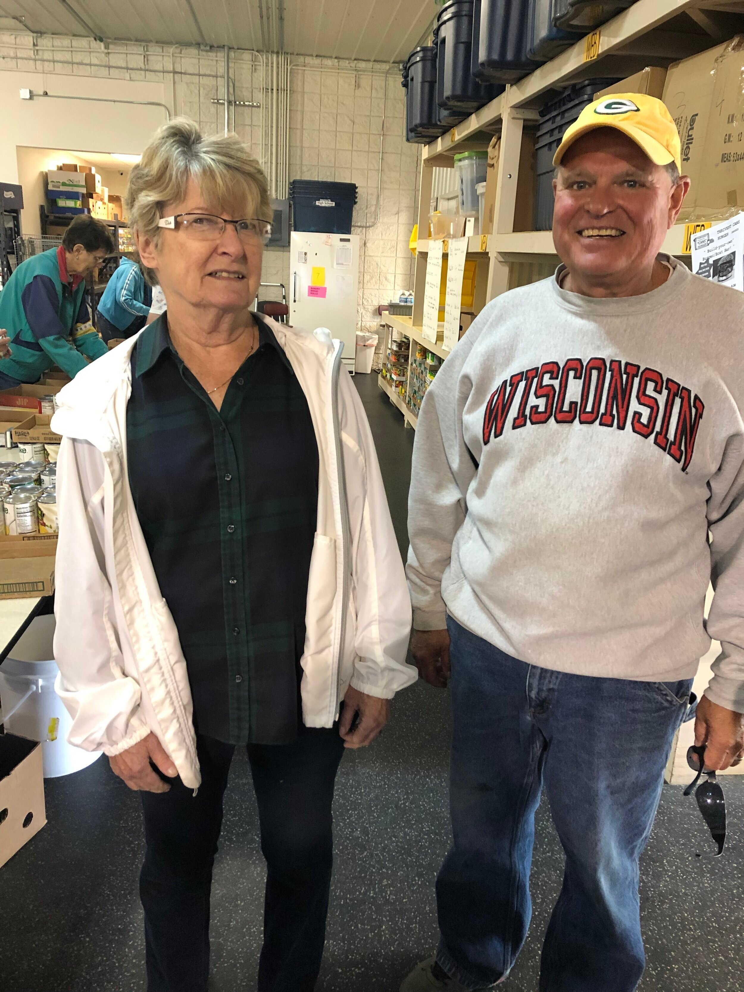 Thank you volunteers! - You make the Pantry great!