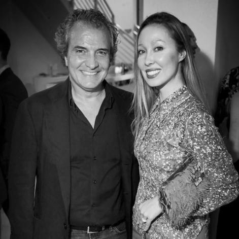 Massimo Melchiorre, Katherine Cartwright
