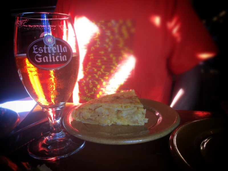 Tortilla & Galician Beer