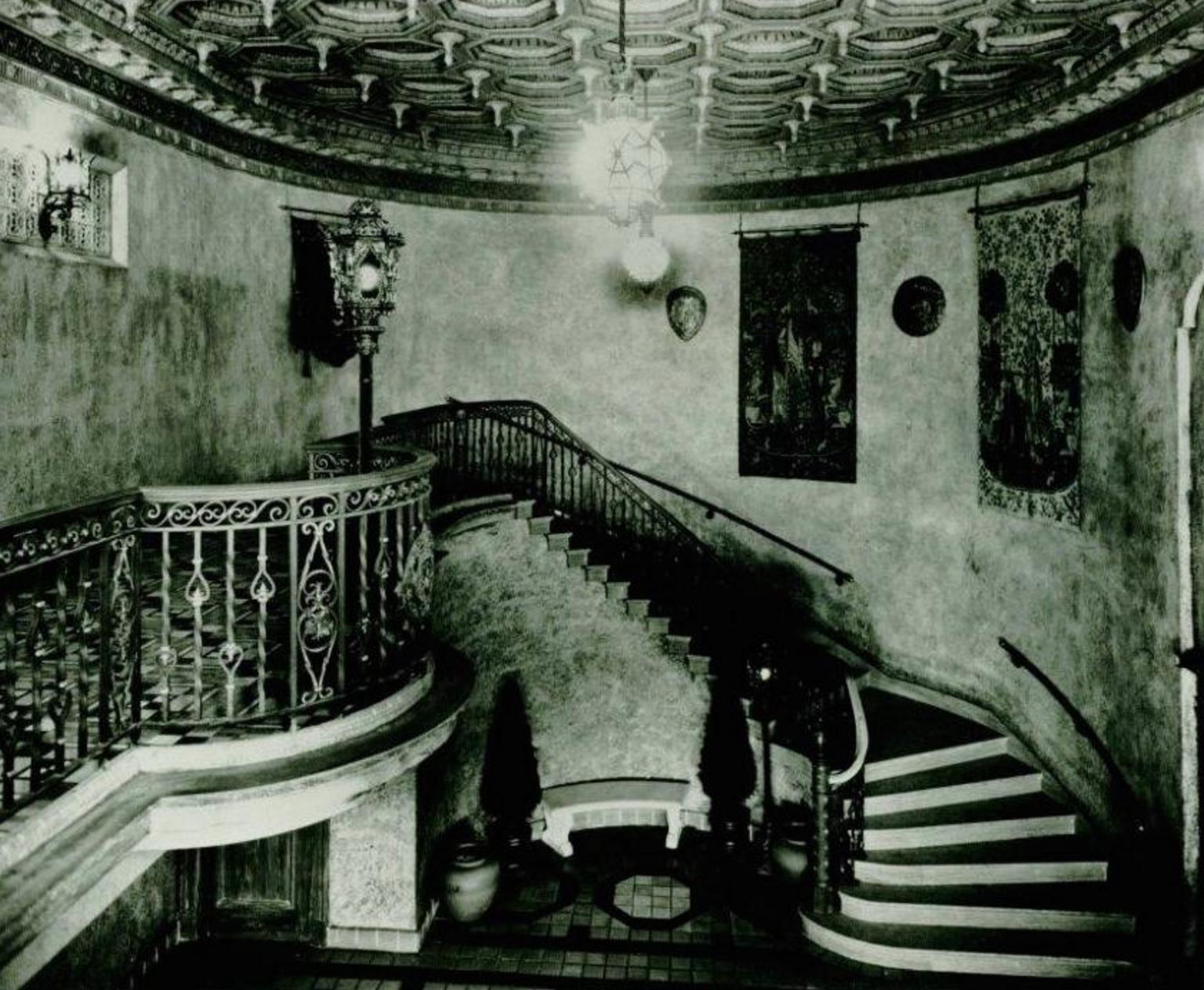 Olympia's Interior Lobby - 1920s