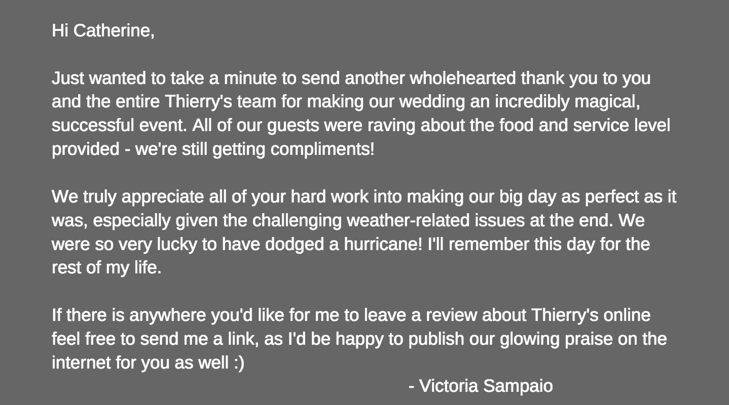 Thank you, Victoria :-)