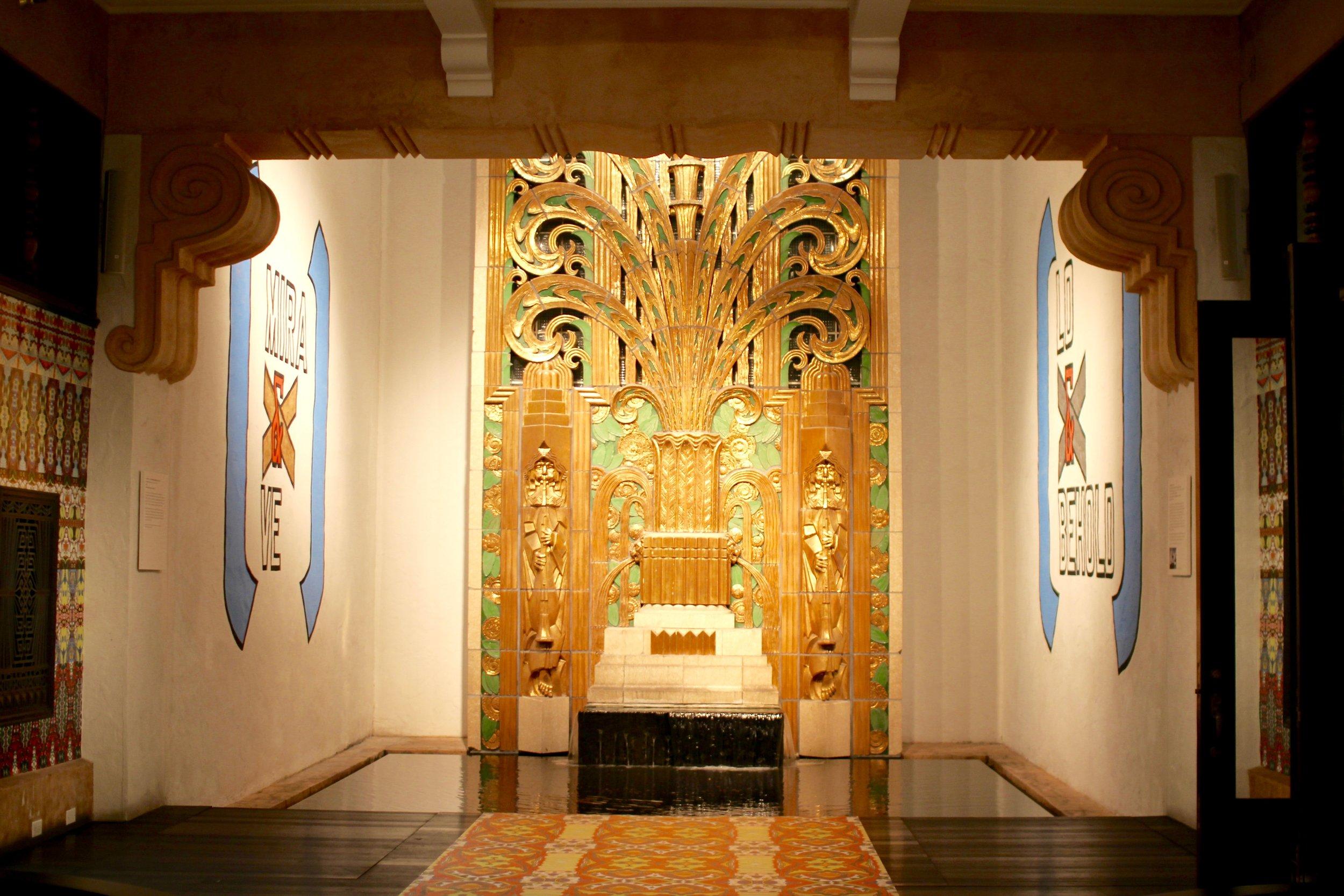 The Wolfsonian Lobby