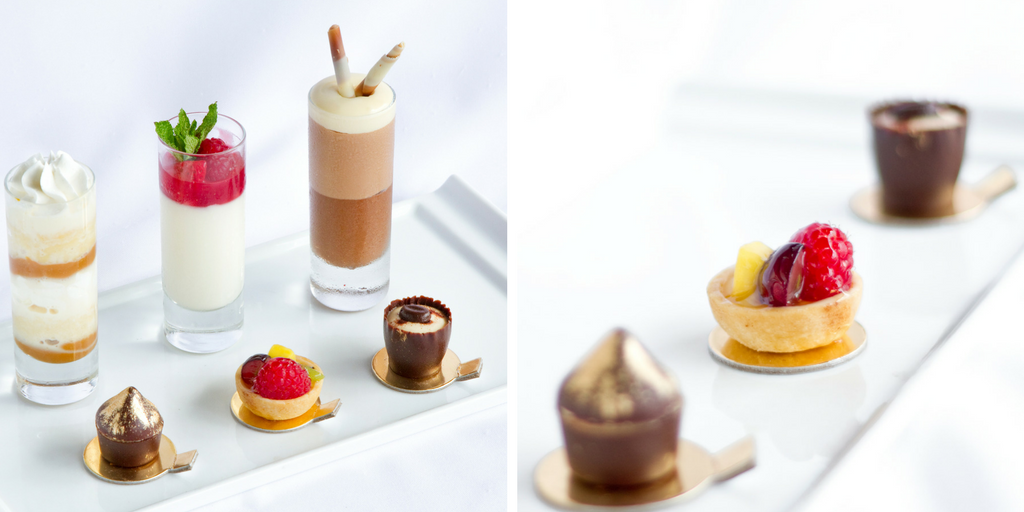 We have a wide selection of Petit Fours for Dessert Stations, which are really popular because these delicacies are beautiful on display. Guests also love to get up from the table and select their own sweet treats.