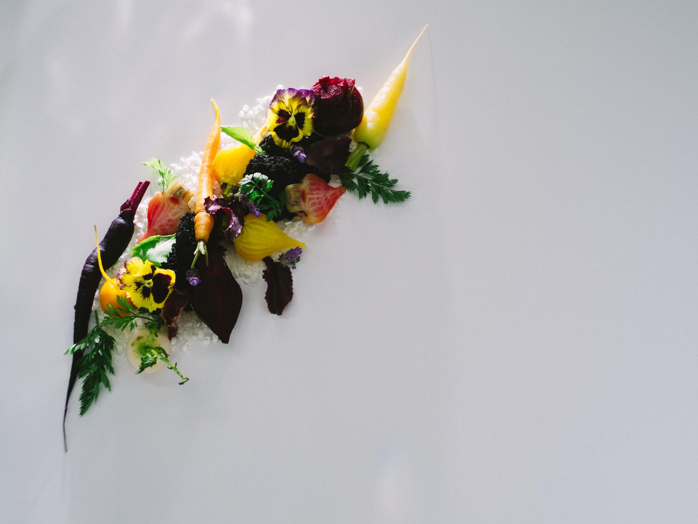 Modern Winter Root Vegetable Salad