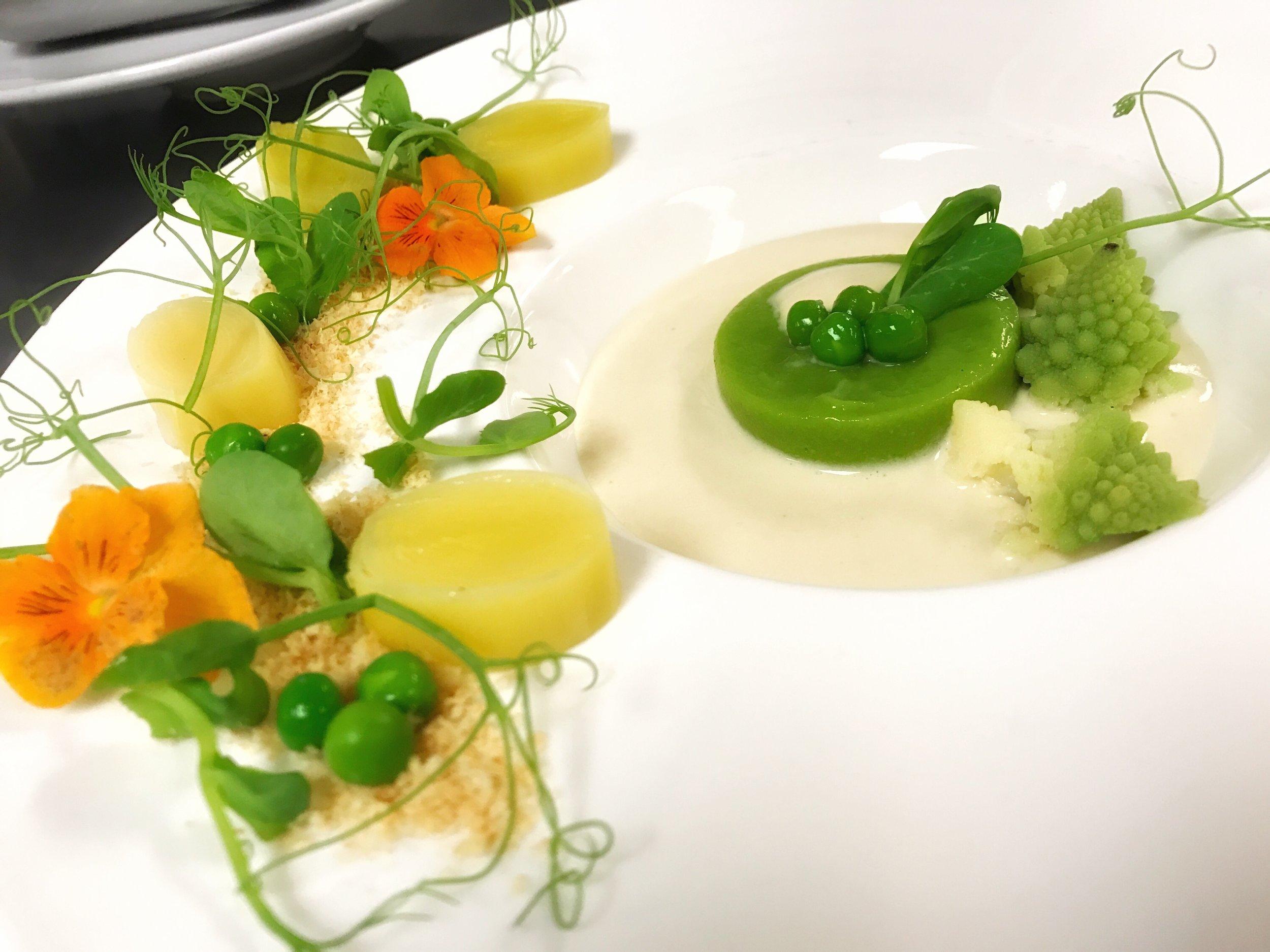 Thierry Isambert's Vegetarian Potato & Leek Soup