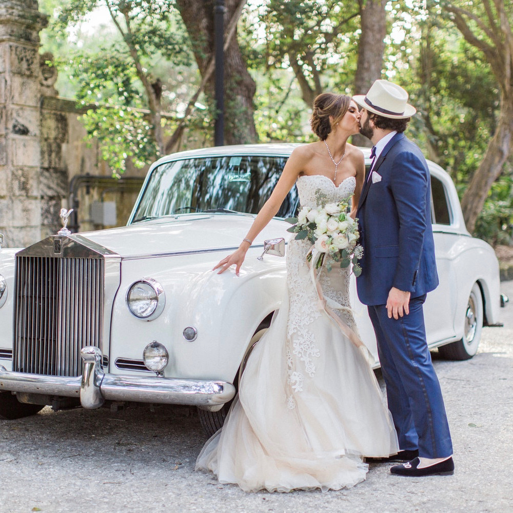 Voted BEST IN FLORIDA for 2016 by THE KNOT:  Marya & Dylan's exquisite wedding was at the historic Vizcaya Museum & Gardens in Coconut Grove.