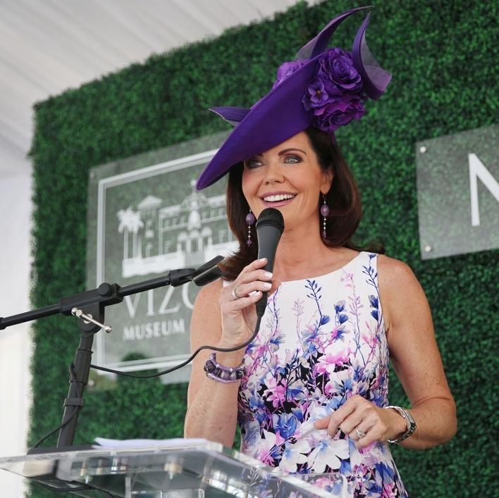 Mistress of Ceremonies, Emmy Award-winning reporter, Laurie Jennings