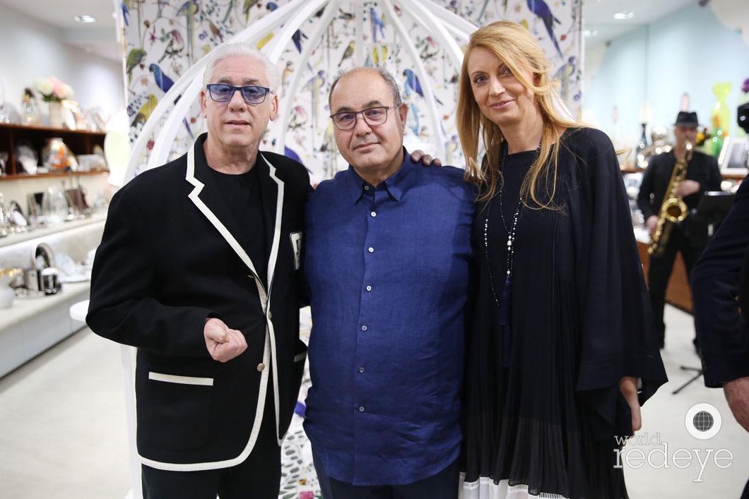 Munro Bank, Miltiadis, & Simona Zepos