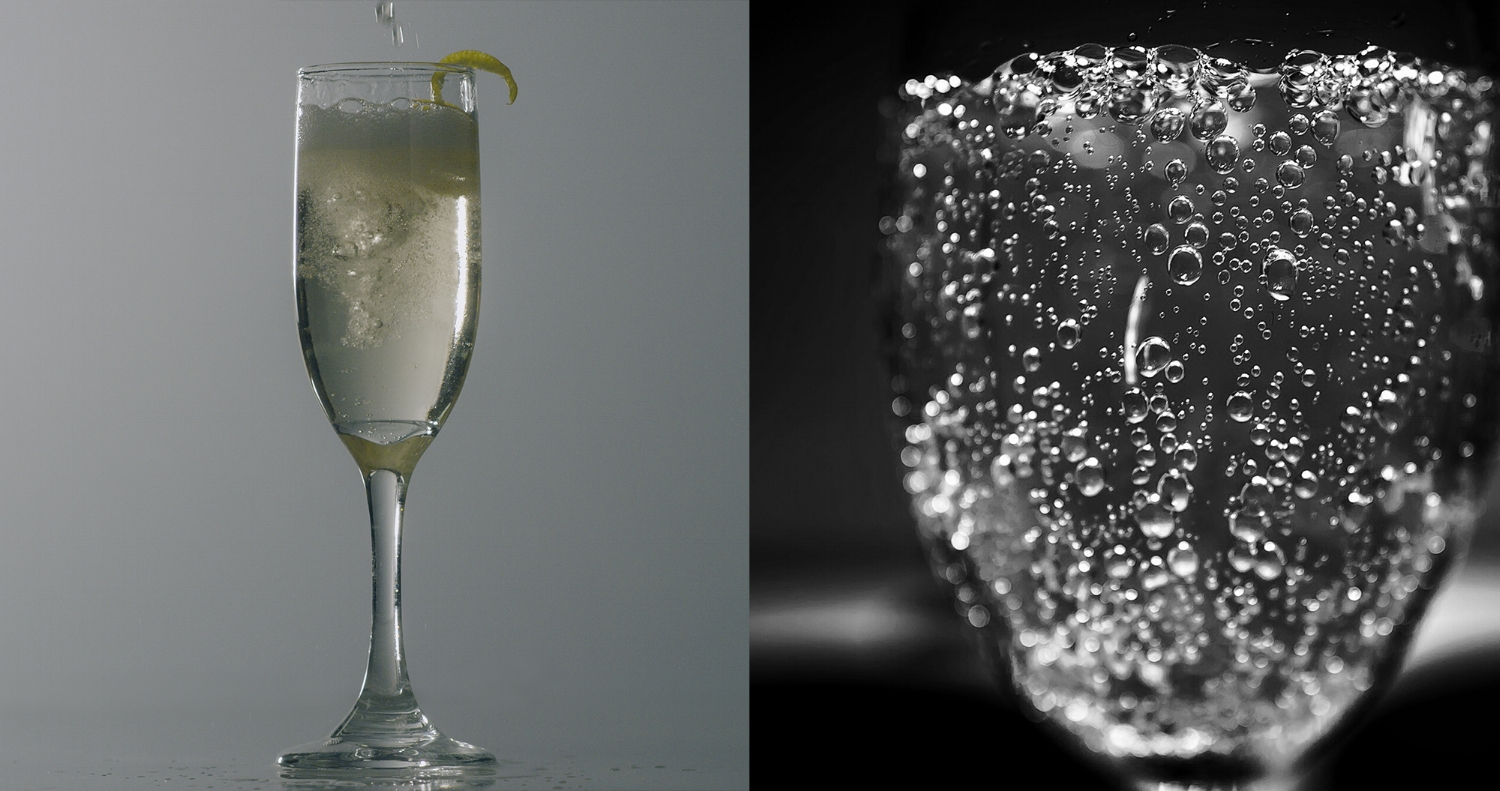 Pardon My Parisian - Click here for instructions for how to make the perfect Champagne cocktail, a bright and bubbly way to celebrate any occasion!