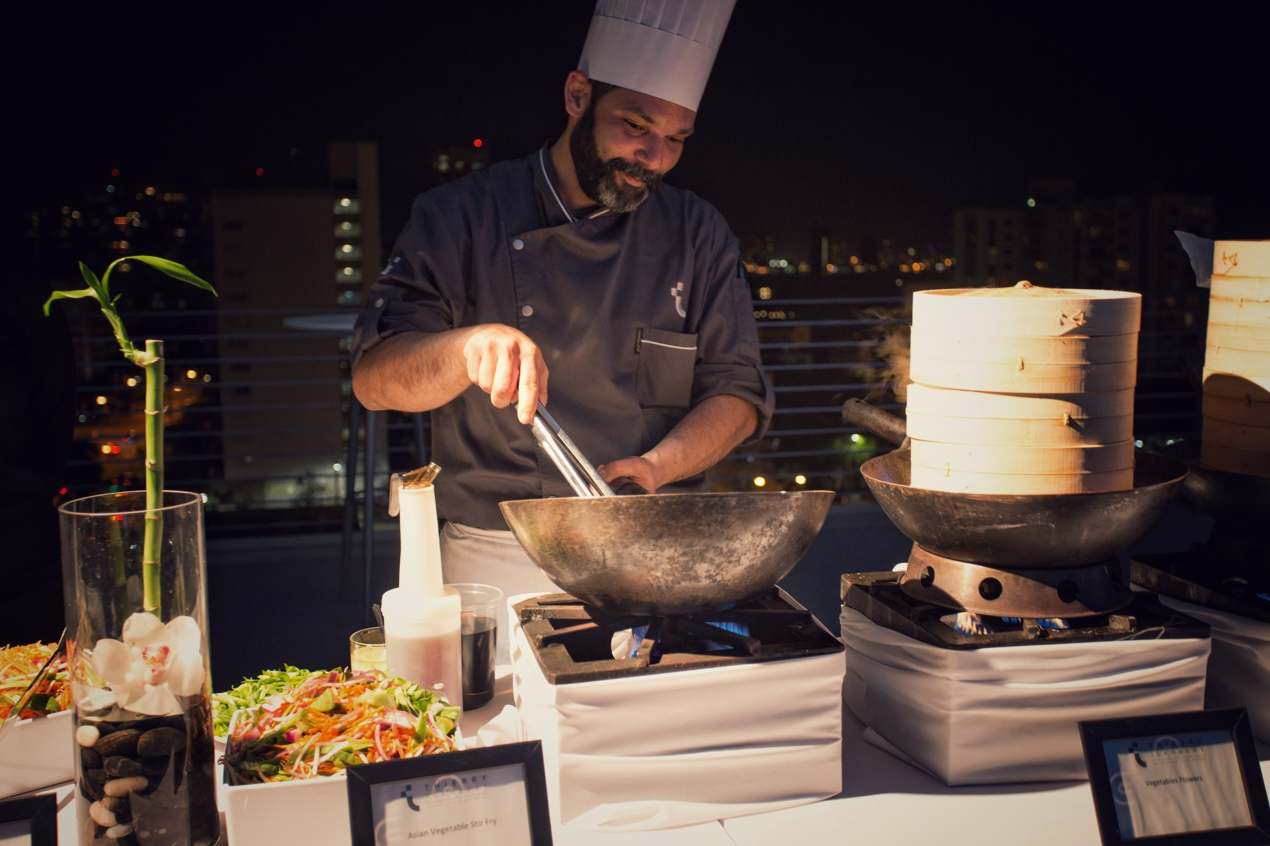 Asian Stir Fry at Corporate Event