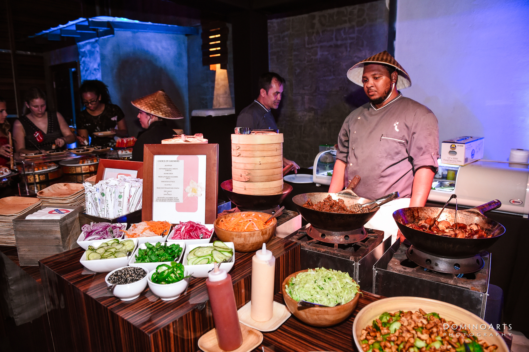 Street Food Catering Concept for Bat Mitzvah