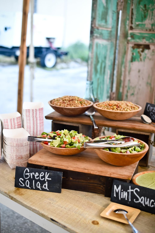 - Greek-Themed Street Food Station