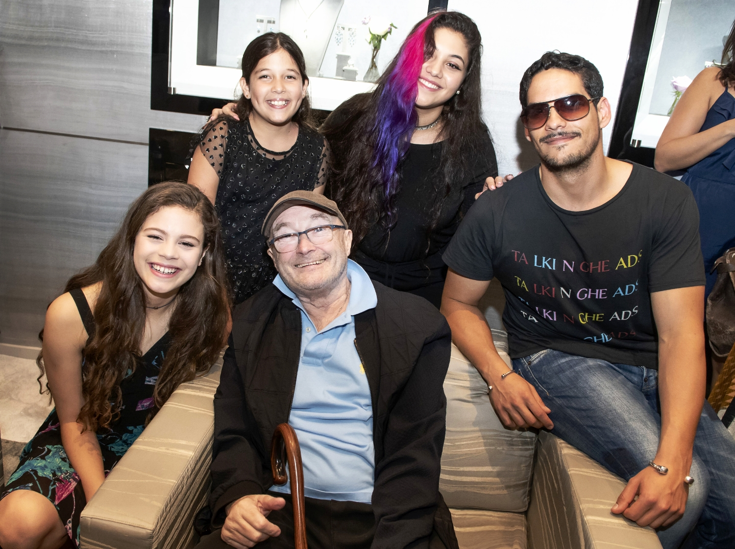 Angelina Green, Martina Travieso, Jazzy Ortiz, Phil Collins, & Jean-Pierre Espiritusanto