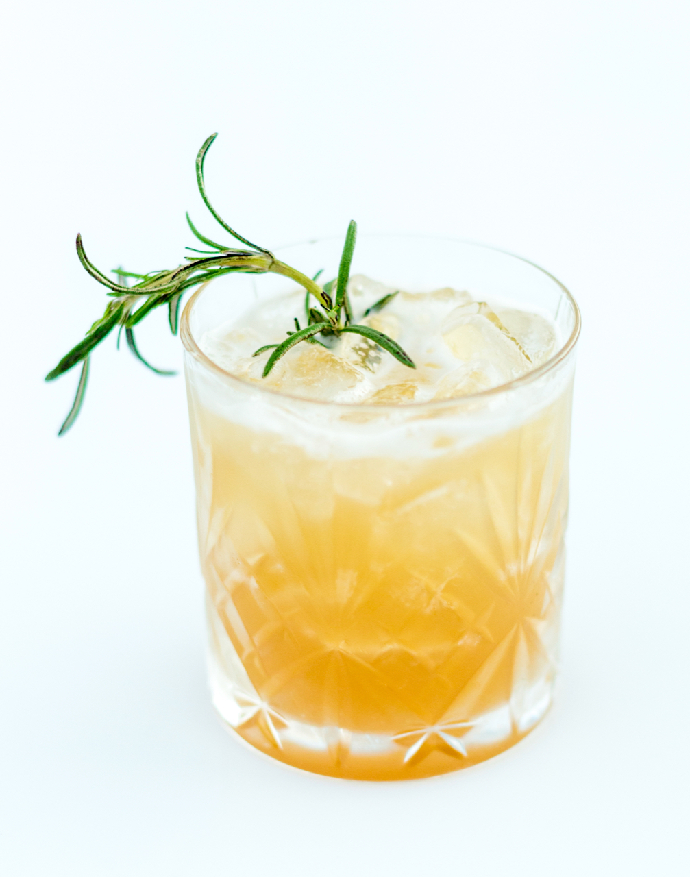 Libations By T.I. - Smoking Rosemary & Maple [Macallan Scotch Whisky, Maple Simple Syrup, Lemon, Burning Rosemary]