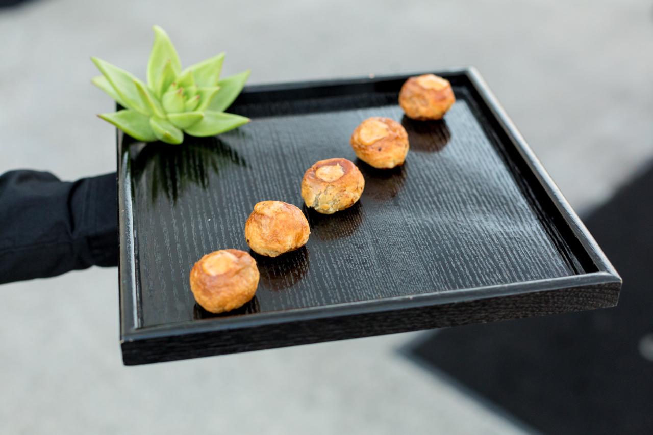 Miniature Beef Wellington, Choron Sauce