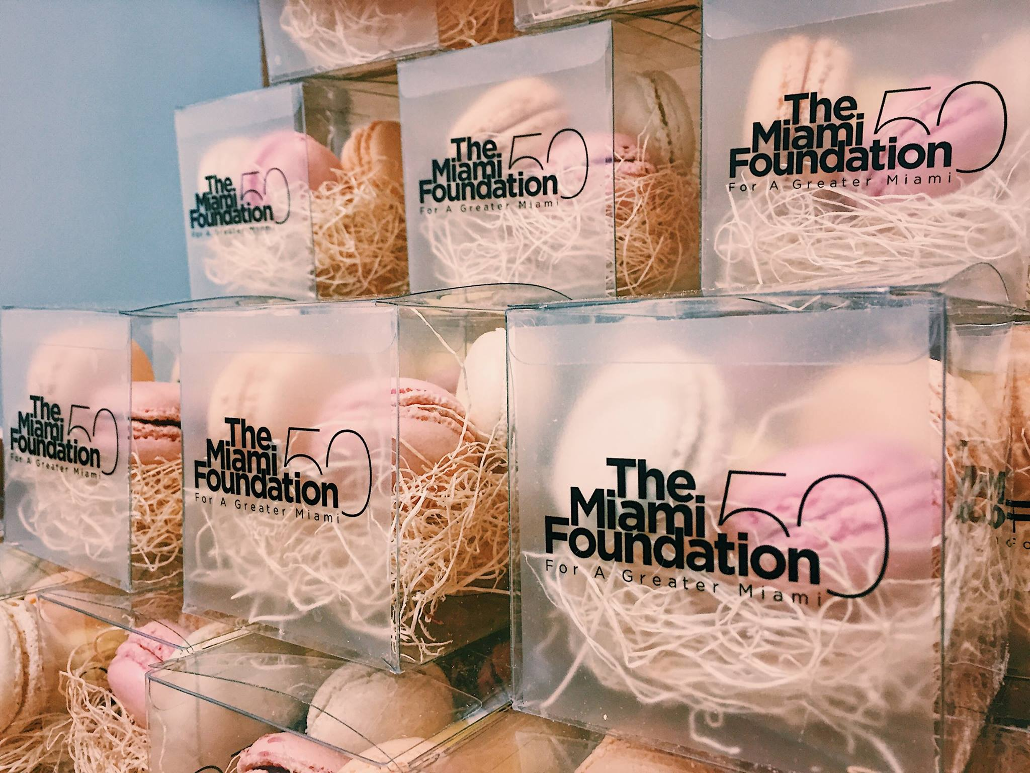 Sweet Gift Boxes For the Miami Foundation Gala